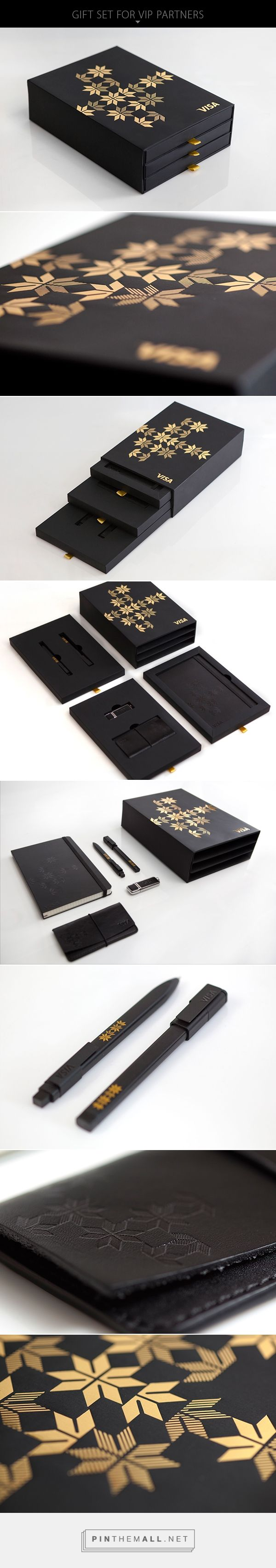 VISA gift set on Packaging Design Served... - a grouped images picture - Pin Them All