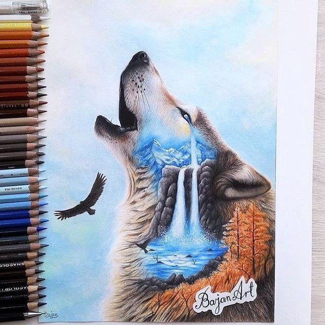 由Bajan Art绘画艺术