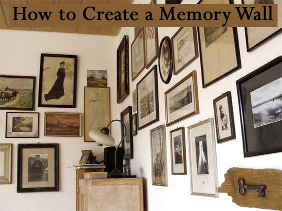 如何在家中创建记忆墙