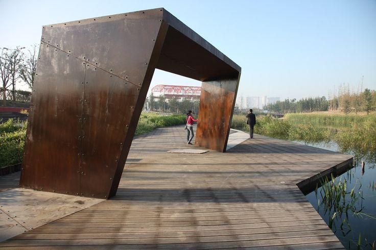 Turenscape的上海后滩公园