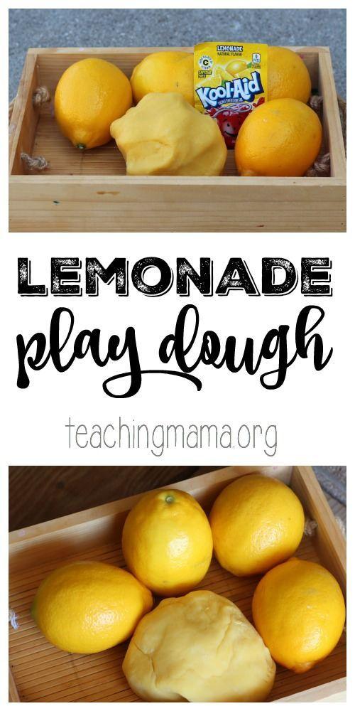 一个简单的柠檬水配方,可以闻到像柠檬水一样的面团,感觉非常棒!