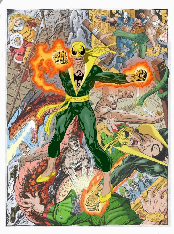 Iron Fist by John Byrne Color by Ben Price