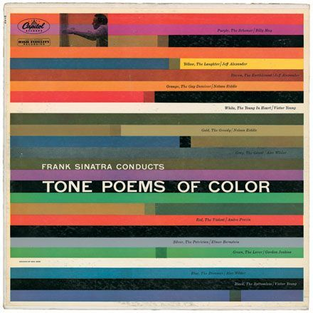 Tone Poems of Color album cover, 1956 - saul bass