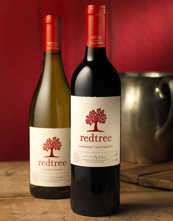 Redtree | Wine Label & Package Design by CF Napa Brand Design PD