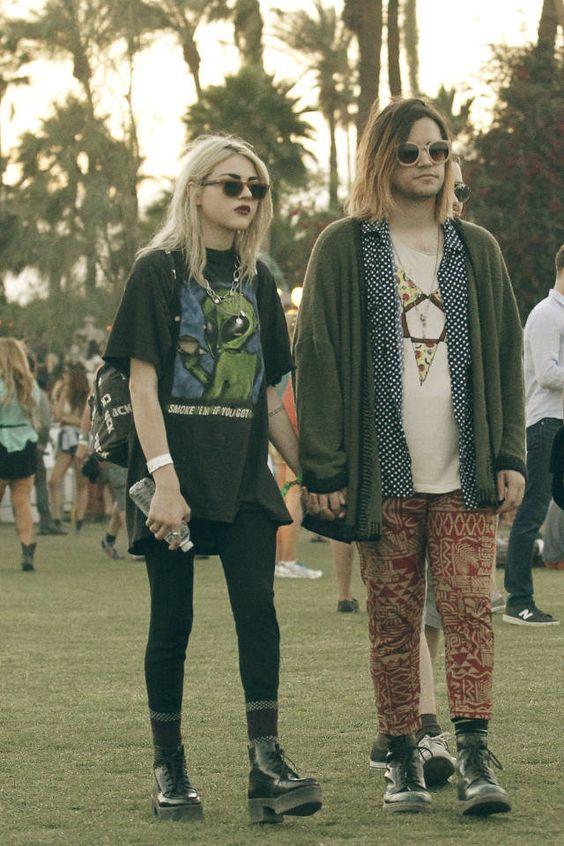 2014年Coachella  - 最佳名人服装|名人之家| Frances Bean Cobain