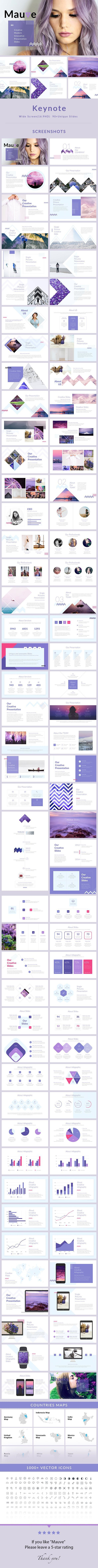 Mauve主题演讲模板 - 主题演讲KEY #minimal•下载➝https://graphicriver.net/item/mauve-keynote-presentation-template/19934842?ref=pxcr