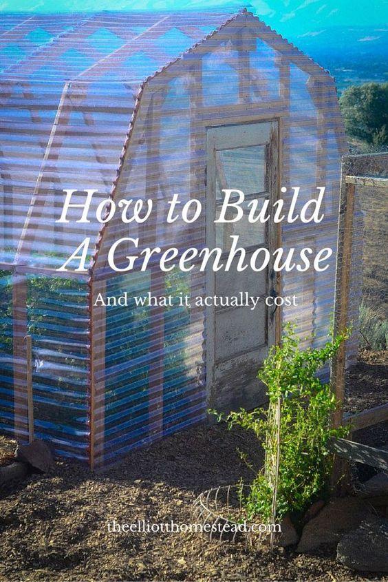 这是一个关于如何建造温室的分步指南......它甚至包括从开始到结束的成本分解。