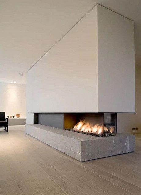 :: FIREPLACES :: METALFIRE www.metalfire.eu/ #fireplaces, love the hearth and three way opening