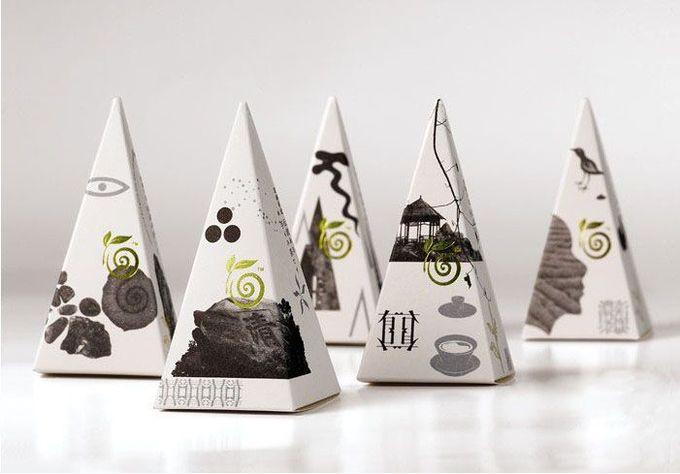 螺丝壳茶叶包装设计 - 包装设计 - 设计帝国