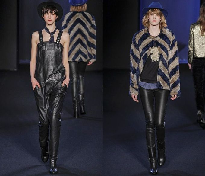 Zadig et Voltaire 2013-2014 Fall Winter Womens Runway Collection