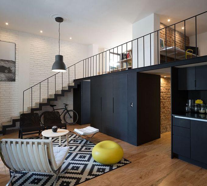 Cordoba Flat  - 图片库#architecture #interiordesign #bricks