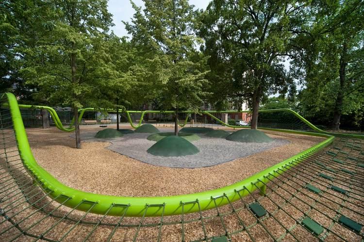 Sculptural Playground Wiesbaden