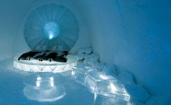 Ice Hotel – The World's Fanciest Igloo