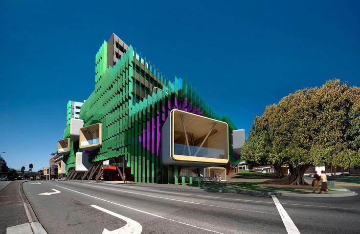 昆士兰儿童医院»里昂建筑 - 澳大利亚墨尔本