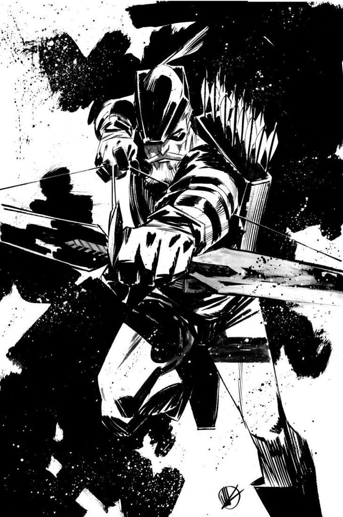 Green Arrow by Matteo Scalera