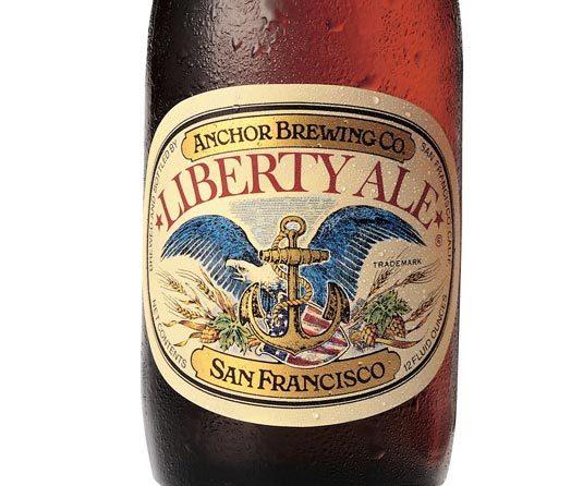 #beer #anchor #packaging #bottle #vintage #illustration  ––  Liberty Ale