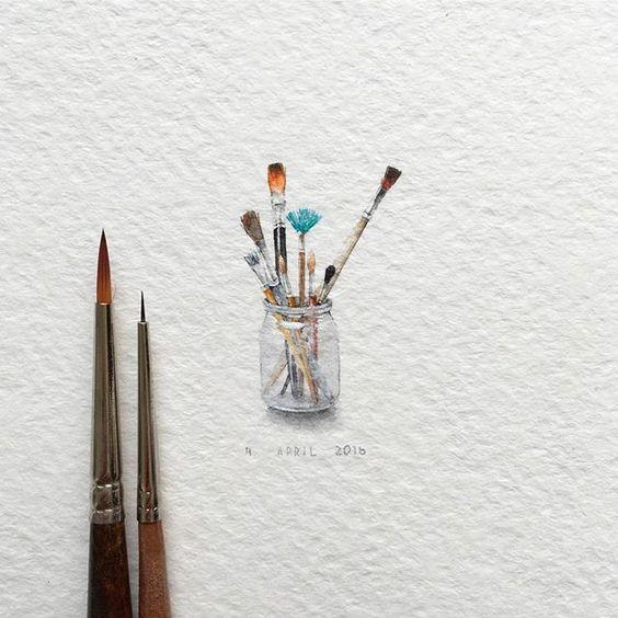 Watercolorist: @irene_mia_  #waterblog #акварель #aquarelle #painting #drawing #art #artist #artwork #painting #illustration #watercolor #aquarela