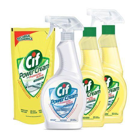 Cif Power Cream Cleaner
