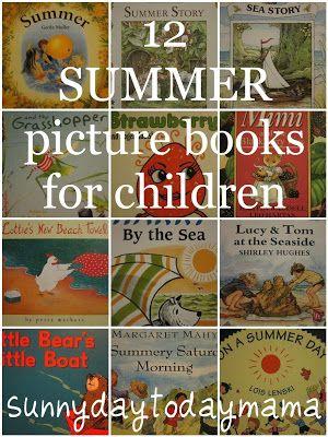 儿童12本夏季图画书
