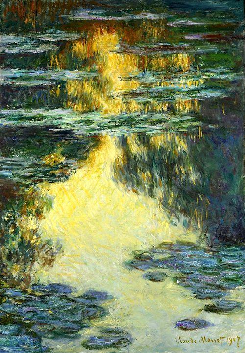 Claude Monet  - 睡莲1907