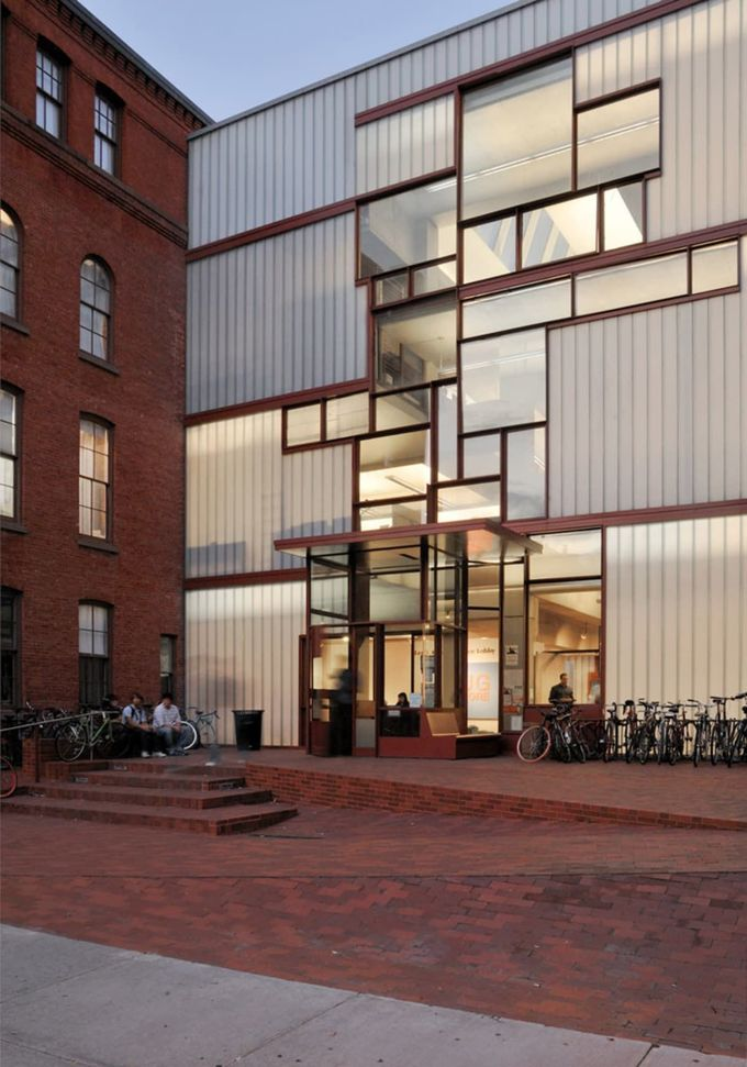 Steven Holl Architects, Michele Nastasi · Pratt Institute - Higgins Hall Insertion