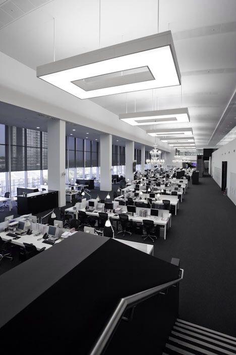 伦敦的Net-A-Porter办公室|办公室设计