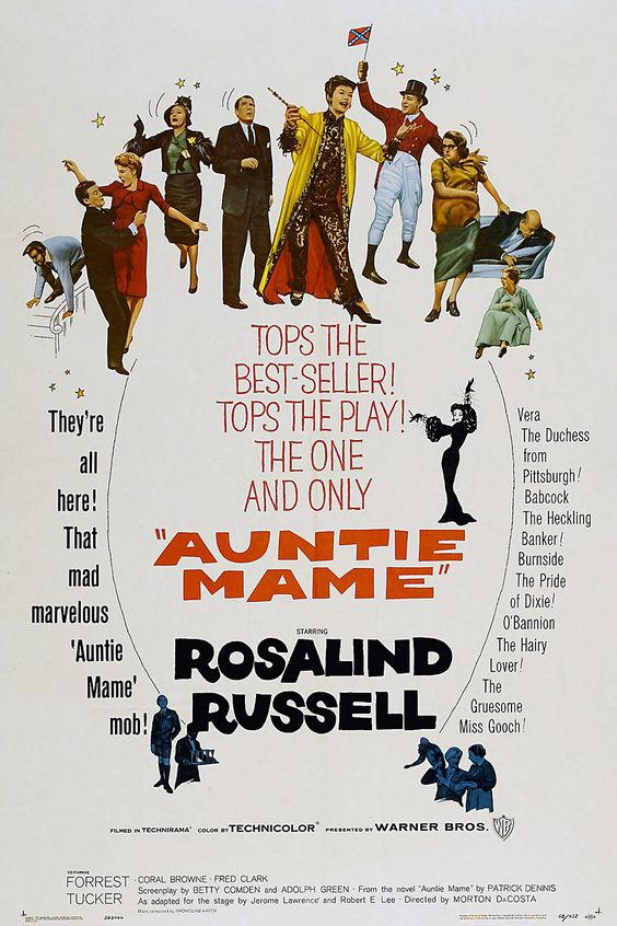 Auntie Mame(1958)很棒,也很搞笑!