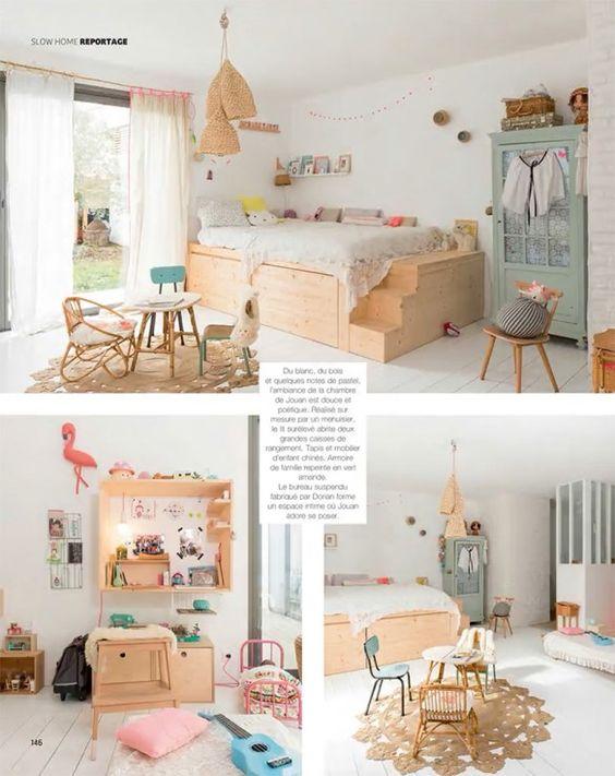 我们一直在寻找漂亮的孩子们的房间灵感。黑白空间,柔和的房间,不拘一格的小孩房间......我们喜欢向您展示不同的风格,并为您带来许多选择。今天我们玩白色和木材,创造有趣的儿童空间。清洁明亮,适合任何性别和任何调色板的白色作品。使用白色弹��...