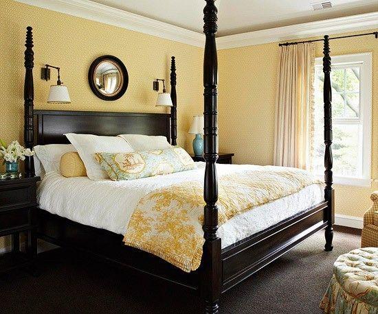 从这些华丽的黄色卧室中获取灵感。