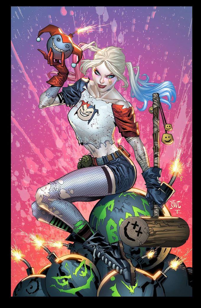 Harley Quinn by Ken Lashley