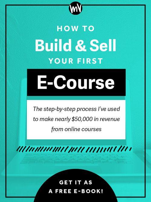 由于这篇文章的受欢迎程度,我已将这些信息转化为30美元的电子课程,称为您的第一个E课程。在我建立和销售在线课程的过程中,您会一步一步地向您展示如何使用QuickTime和iMovie等工具的详细屏幕录像