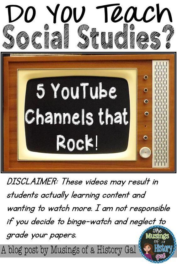 5个YouTube频道,摇滚!