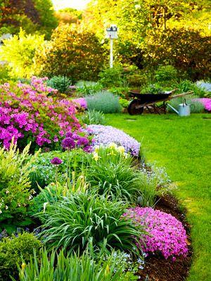 在彩虹的每一种颜色下,用这些花园的想法为你的花园增添花朵。