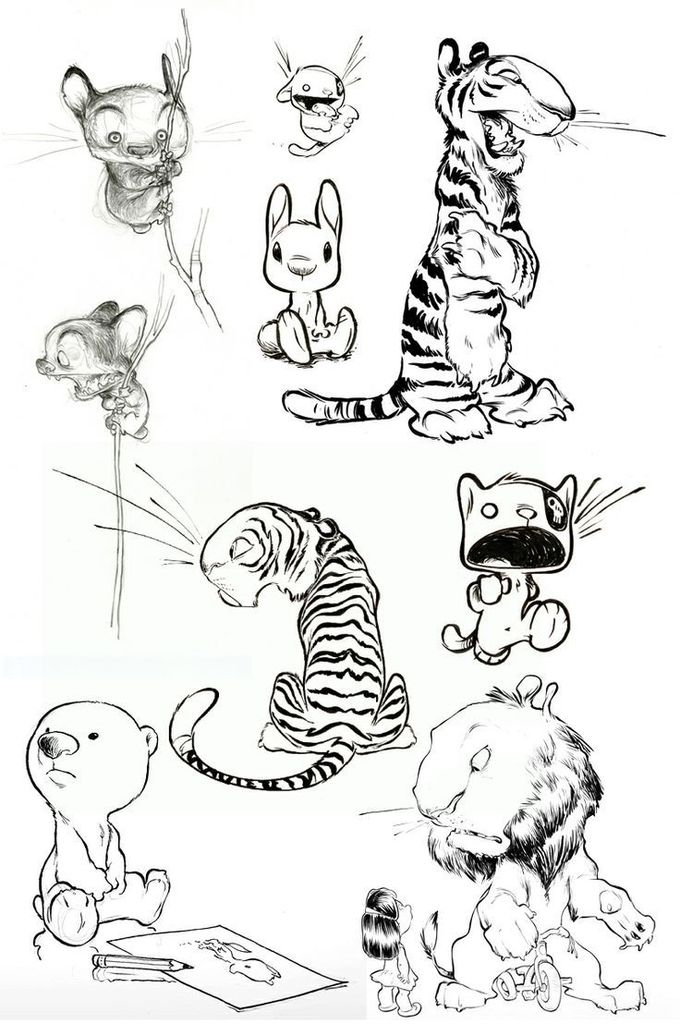 Lions, Tigers & Bears by Chris Sanders