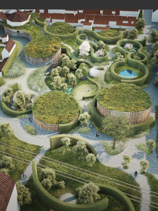 #allgoodthingsdanish #architecture #denmark Kengo Kuma和Cornelius +Vöge在丹麦欧登塞的Hans Christian Andersen博物馆中获得@missdesignsays cc @corneliusvoge的评论
