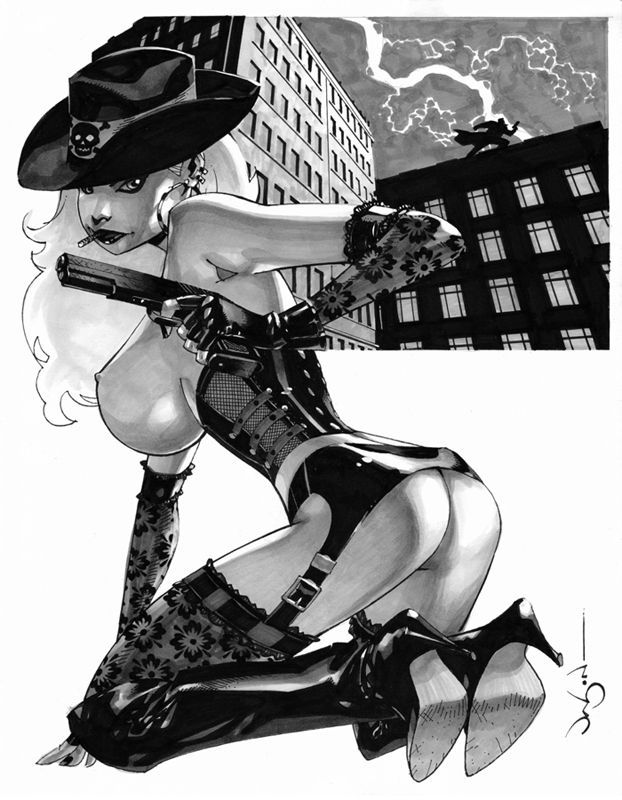 Nancy Callahan of Sin City by Jason Pearson Comic Art