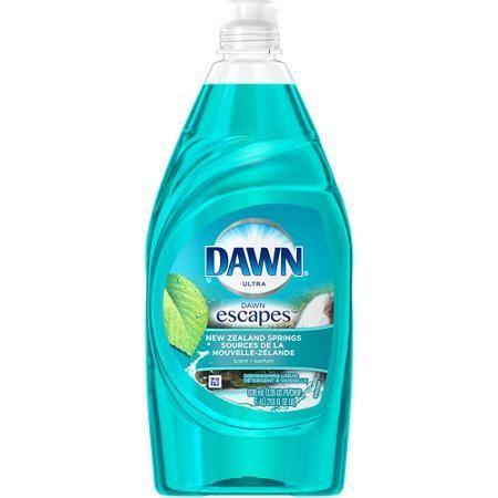 Dawn Ultra New Zealand Spring Scent Dishwashing Liquid, 21.6 oz - $2.48 (save 6%) #walmart #dawn #dishwasherdetergent #kitchen