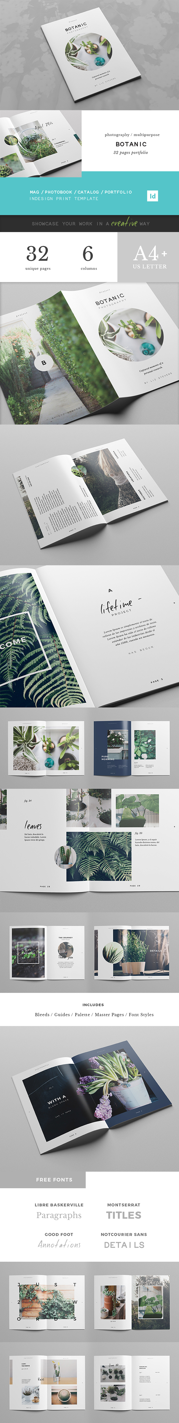 Multipurpose image-based portfolio. It can work perfectly too as a magazine, photo album, brochure or catalog. Style is minimal, delicate, modern and playful with an indie feeling, ideal for photography, design, art or fashion projects. Photos used in the…