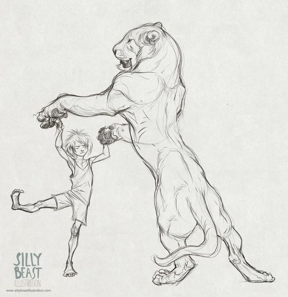 Her sketches are so fun! Animal sketches by Therese Larsson, via Behance