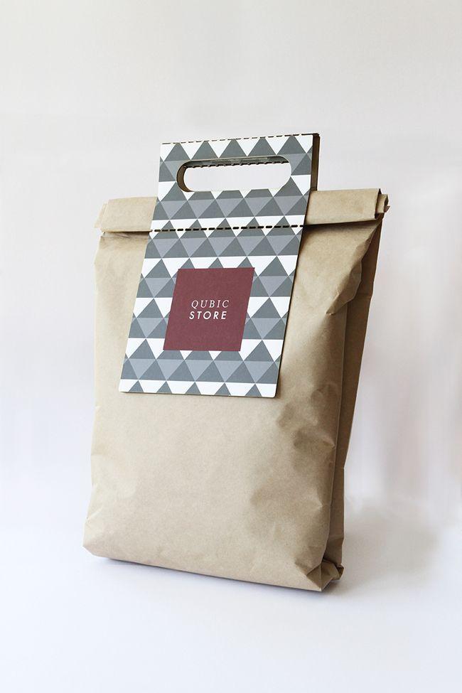 Qubic Store (Concept) sugli imballaggi del Mondo - Galleria Creativo disegno di pacchetto