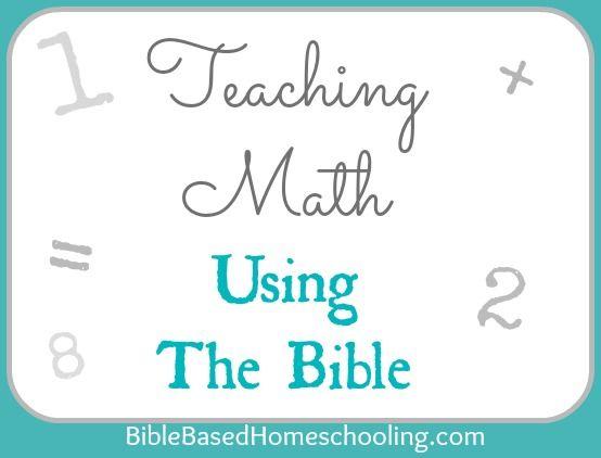用圣经教数学