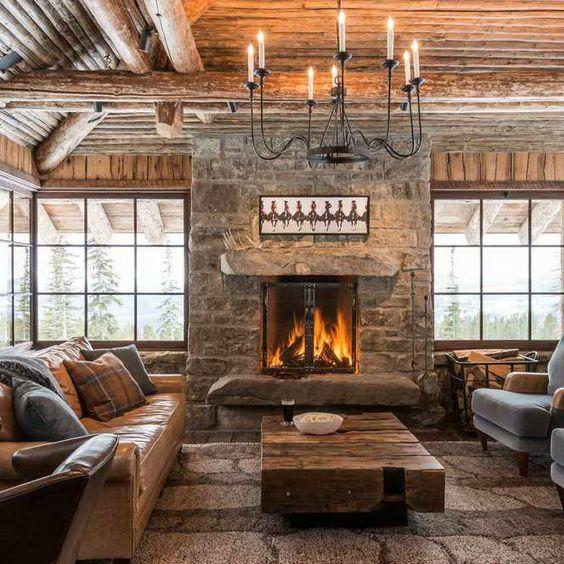 蒙大拿自由小屋,皮尔森设计集团室内设计