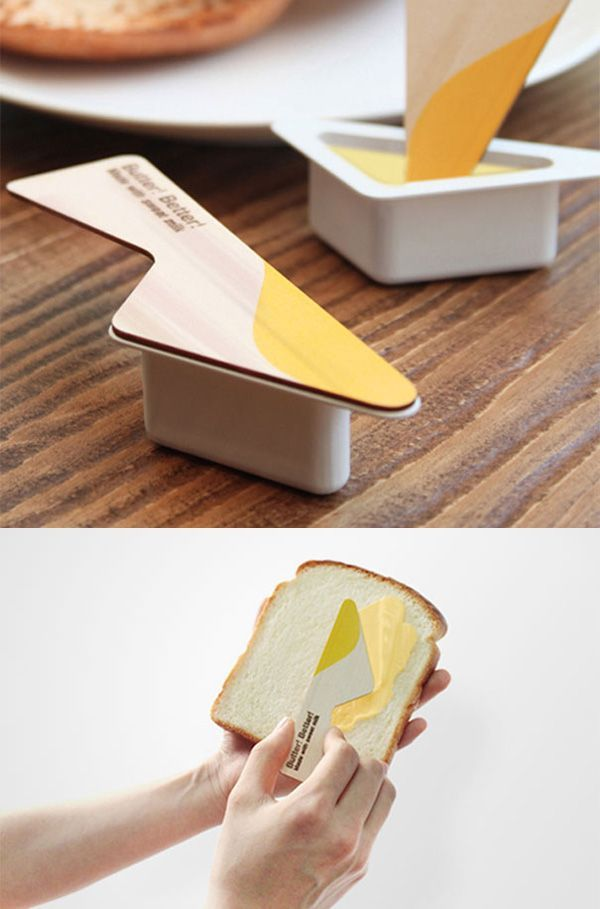 burro in  packaging creativo