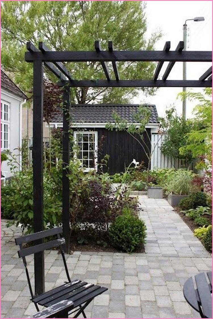 黑色花园棚/现代凉棚/ #patio