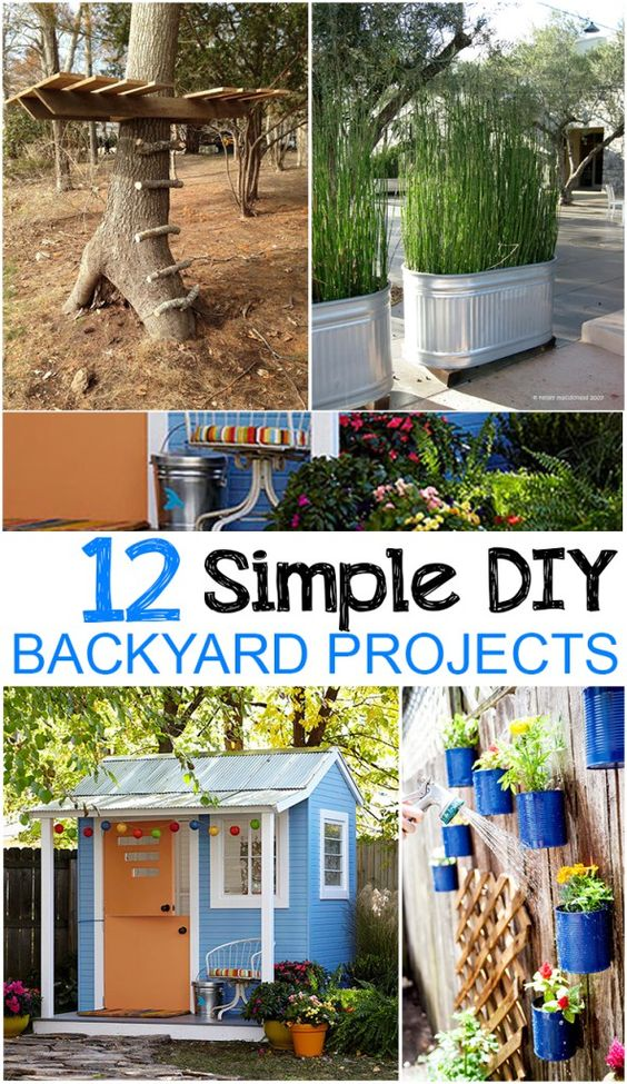 12个简单的DIY后院项目 - 很棒的DIY想法和教程。
