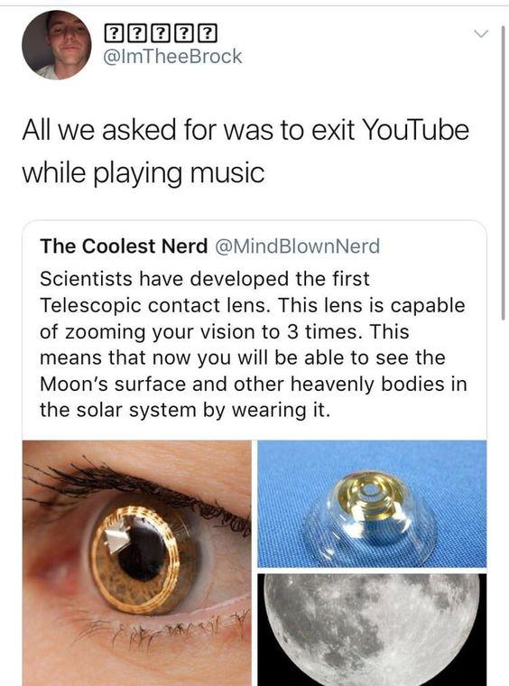 我们仍然无法在播放音乐时退出Youtube