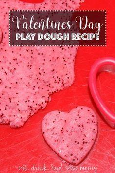 这个情人节玩面团配方便宜,简单,有趣,只需要几分钟。配上一些心形曲奇饼干,这绝对是可爱的。这将是一个伟大的DIY情人节礼物为一个阶级派对或游戏组。