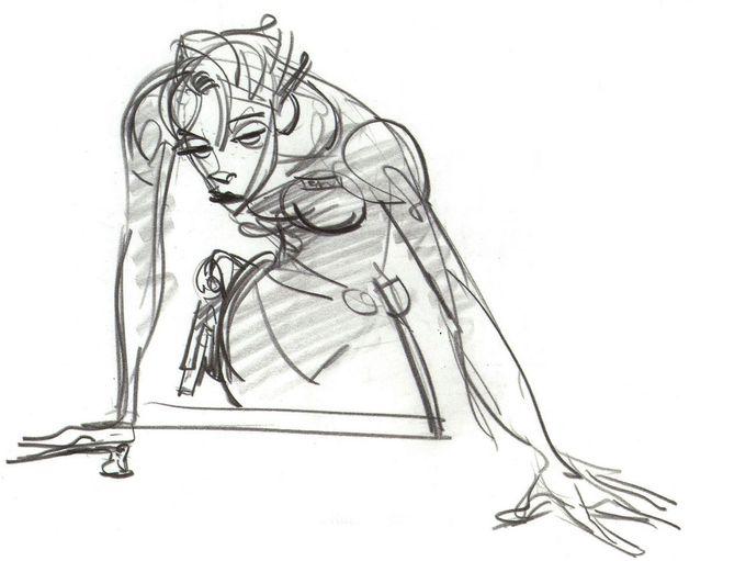 Keane Art, Character Designs for Wreck-It Ralph