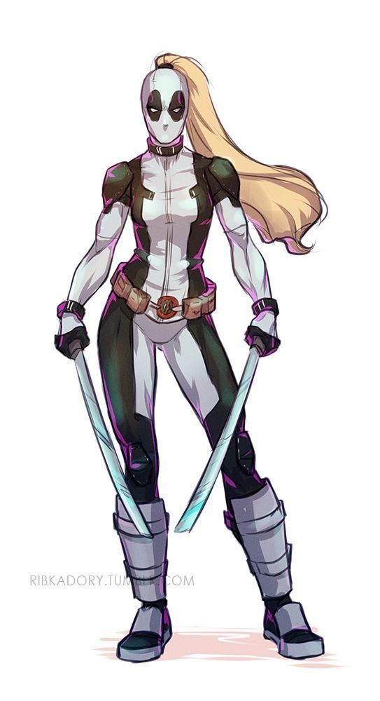 "X-Force Ladypool  -  Tumblr上的""ribkadory"""