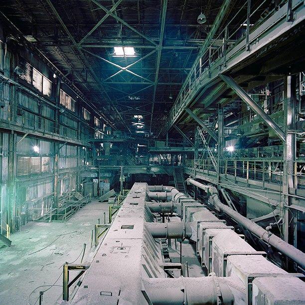 Sean Galbraith, Abandoned Factories